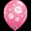 Rózsaszín baby girl lufi