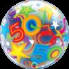 50 számos bubble héliumos lufi