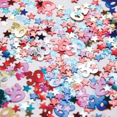 30. szülinapi konfetti