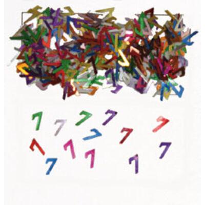 7. szülinapi konfetti