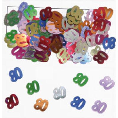 80. szülinapi konfetti