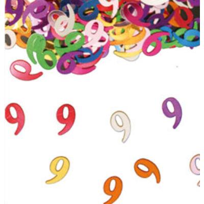 9. szülinapi konfetti