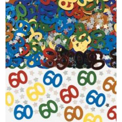 60. szülinapi konfetti
