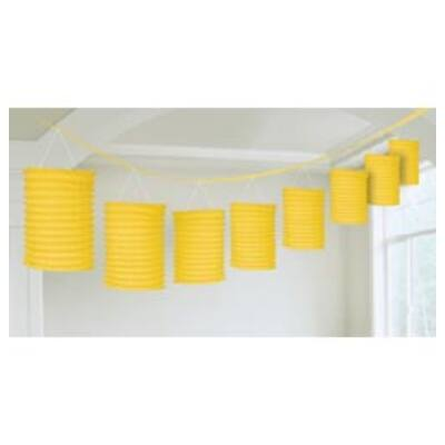 Sárga lampion füzér