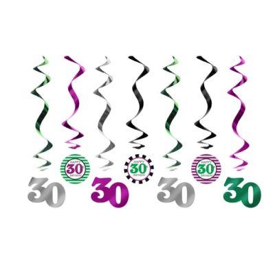 30. szülinapra belógatós függő dísz