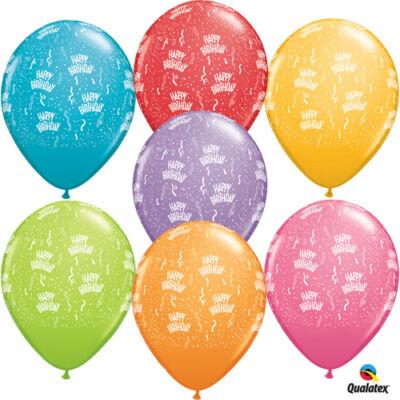 Happy birthday szülinapi lufi 5 db