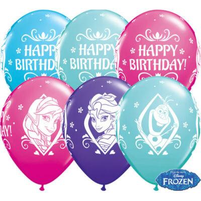 Jégvarázs - Frozen szülinapi lufi