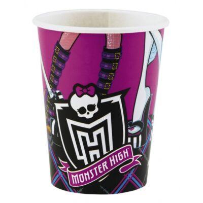 Monster high szülinapi party pohár