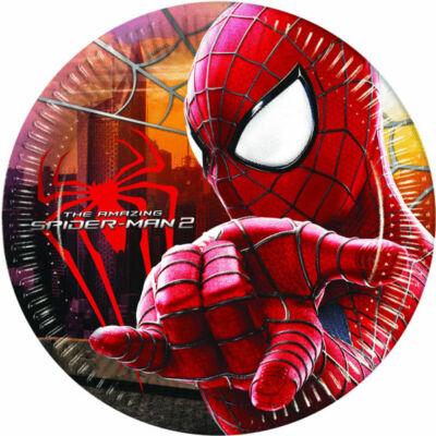 Pókember parti tányér