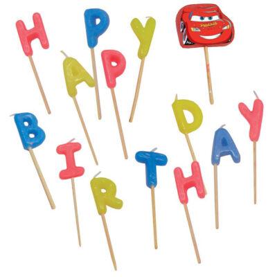 Verdás happy birthday gyertya