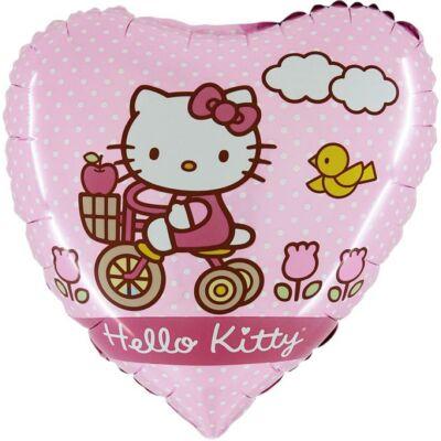 Biciklis hello kitty héliumos lufi