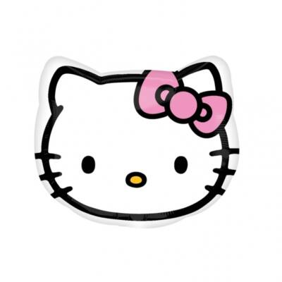 Hello kitty fej héliumos lufi