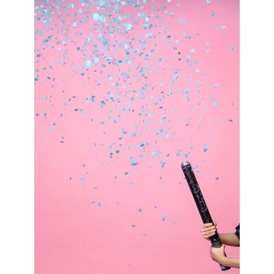 Kék konfetti ágyú