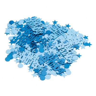 Kék szülinapi konfetti
