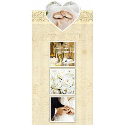 Esküvői képeslap nászajándéknak