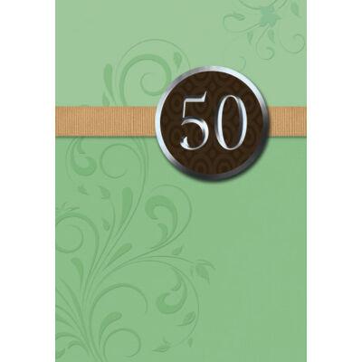 50. szülinapi képeslap