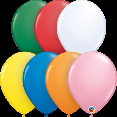Klasszikus színek lufi csomag 25 db