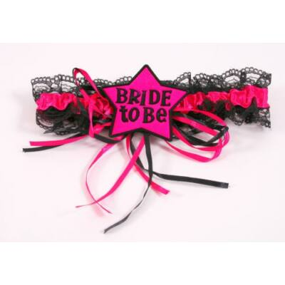 Bride to be lánybúcsú harisnyakötő