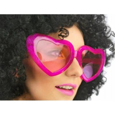 Pink szívszemüveg nagy
