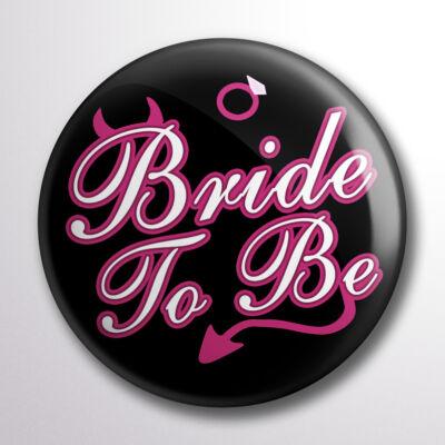 Bride to be kitüző ördögös mintával