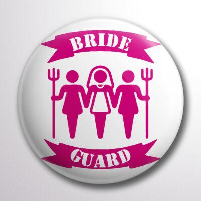 Bride guard kitűző