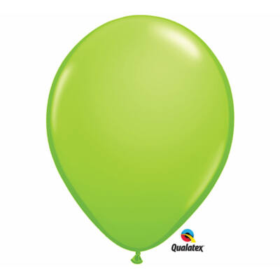 Lime zöld lufi qualatex 28 cm