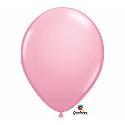 Világos rózsaszín lufi qualatex 28 cm