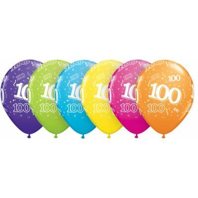 100. szülinapi lufi tropical