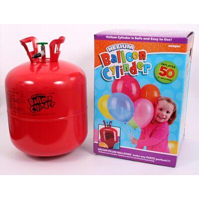 Héliumos palack 50 db lufi fújásához