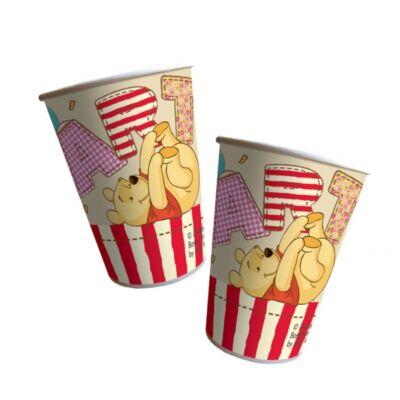 Micimackó party pohár