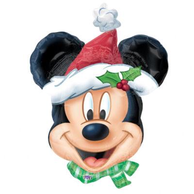 Mickey egér mikulás héliumos lufi