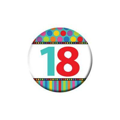 18. szülinapi színes kitüző