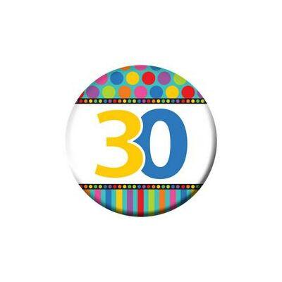 30. szülinapi színes kitüző