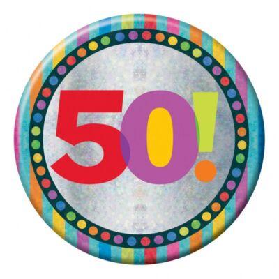 50. szülinapi prizmás nagy kitüző