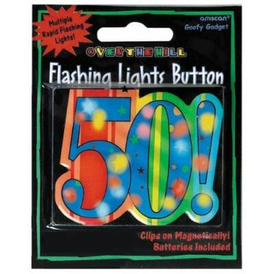 50 szülinapra világító kitüző