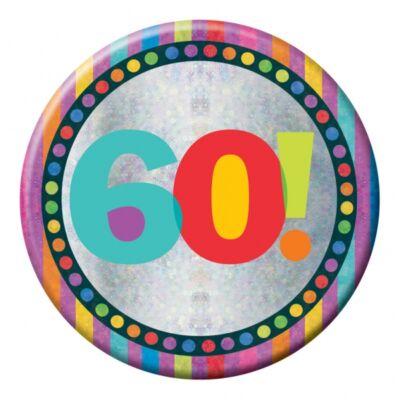 60. szülinapi prizmás nagy kitüző