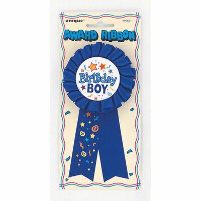 Szülinapi szalagos Birthday Boy kitüző
