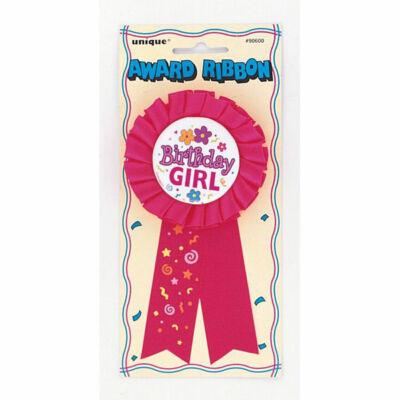 Szülinapi szalagos Birthday Girl kitüző