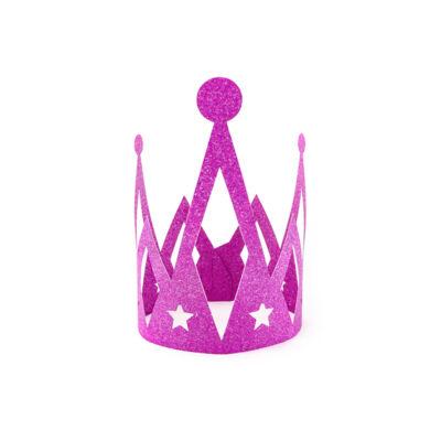Pink princess korona