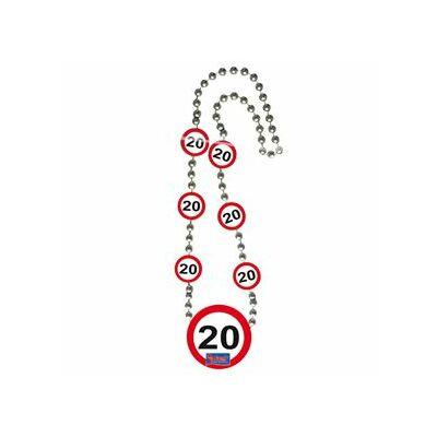 Sebességkorlátozó 20. szülinapi nyaklánc