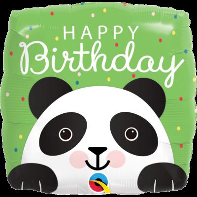 Szülinapi panda héliumos lufi