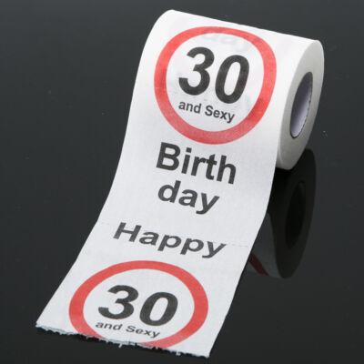 30. szülinapi wc papír