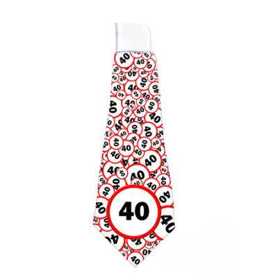 40. szülinapi nyakkendő