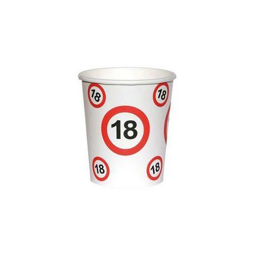 18. szülinapi sebességkorlátozó papír pohár 6 db