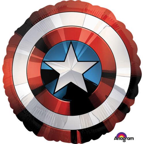 Amerika kapitány pajzs héliumos lufi