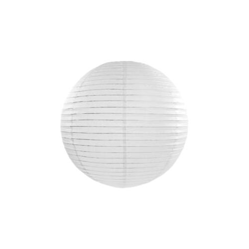 Fehér lampion 25 cm