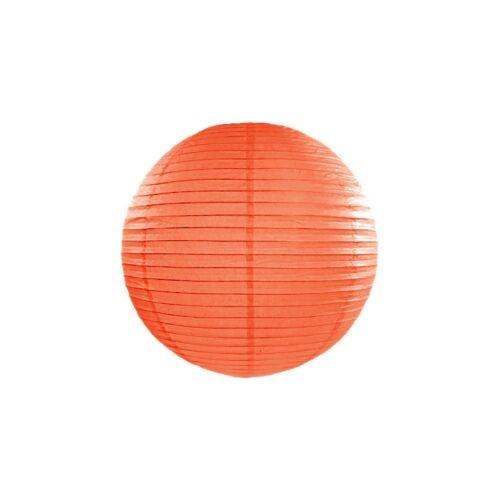 Narancs lampion 25 cm
