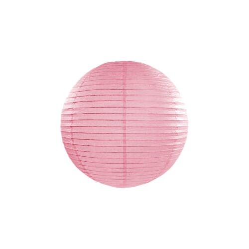 Rózsaszín lampion 25 cm