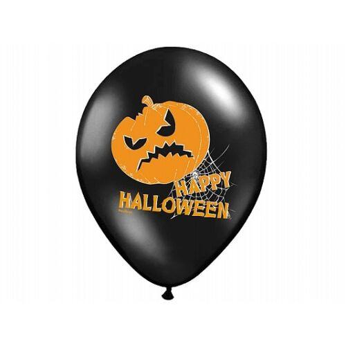 Halloween tökös héliumos lufi