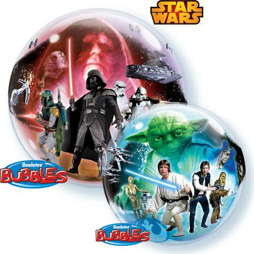 Star wars bubbles héliumos lufi